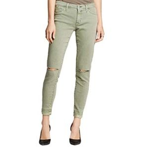 Mossimo Olive Green Mid-Rise Jegging 00/24R